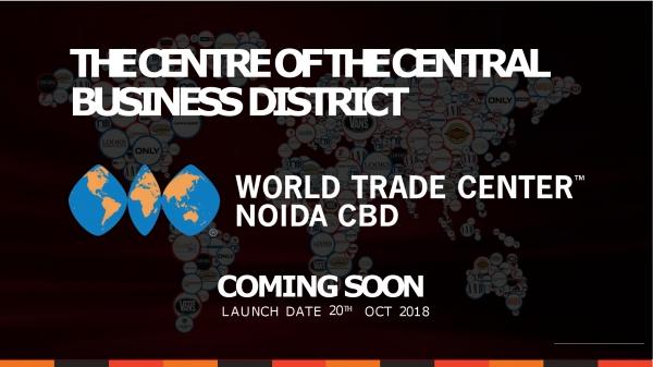 World Trade Center. WTC CBD Noida.