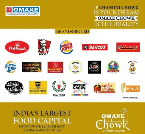 Omaxe Project in Chandni Chowk
